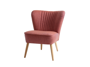 Fotel tapicerowany Harry nordic pink