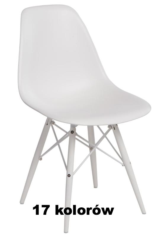 W superbly Krzesło P016W insp. DSW białe nogi Meble-Bocian - Internetowy KF94