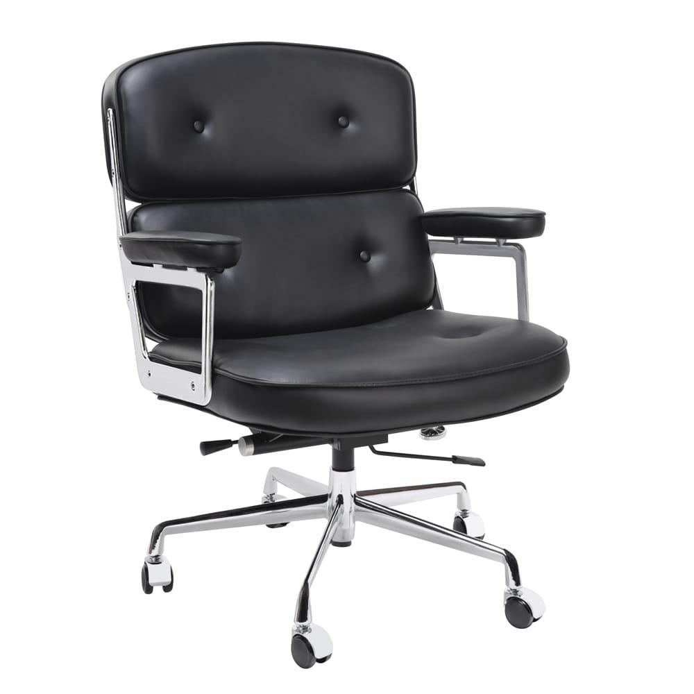 W superbly Fotel biurowy Icon Prestige Plus. Włoska skóra naturalna Meble SV46